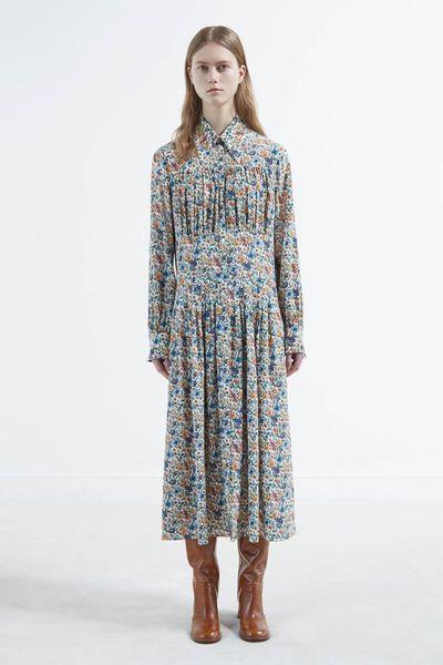 платья макси осень-зима 2017