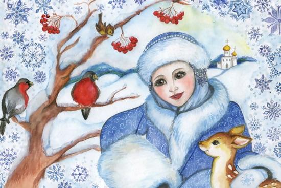 Как нарисовать открытку на новый год 2018 поэтапно