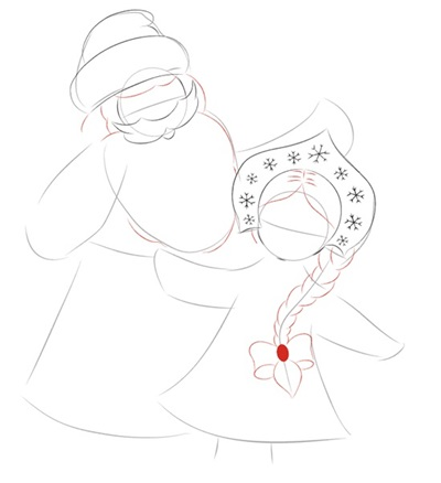 narisovat-noviy-god-2018-24 Как нарисовать открытку на Новый Год поэтапно