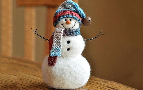 Снеговик своими руками на Новый 2018 год из ниток, бумаги и других подручных материалов: мастер-класс по изготовлению снеговика