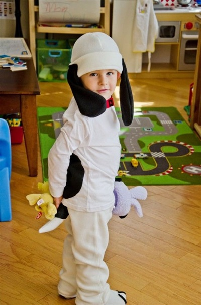 Как сделать костюм собаки ребенку фото 321