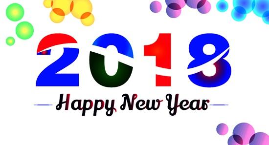 Короткие и прикольные поздравления с новым 2018 годом