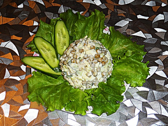рецепты салата с кальмарами с фото пошагово