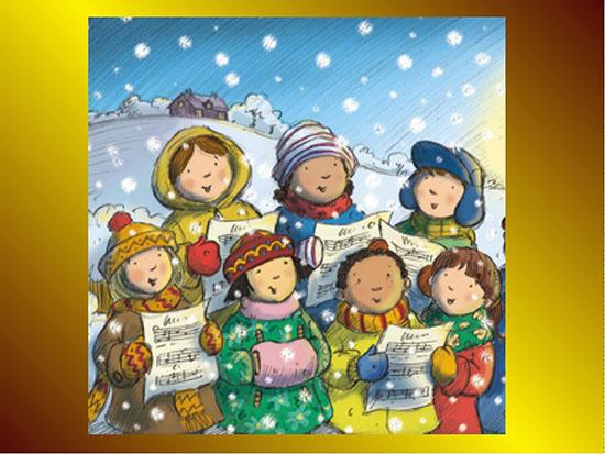 Песни на Рождество Христово на русском и английском языках для детей и взрослых