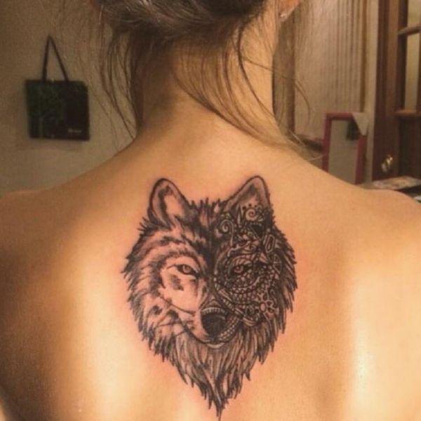 Тату волк: 12 значений, 78 фото и 20 лучших эскизов - Vse-o-tattoo 15