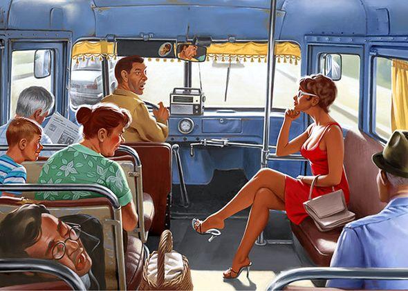 как познакомиться с парнем в автобусе