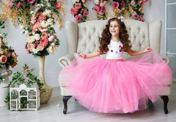 Пышные юбки для девочек своими руками фото 80