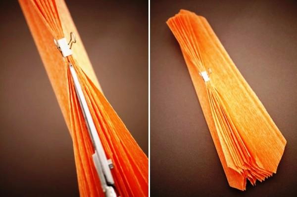 Как сделать огромный цветок из гофрированной бумаги фото 86