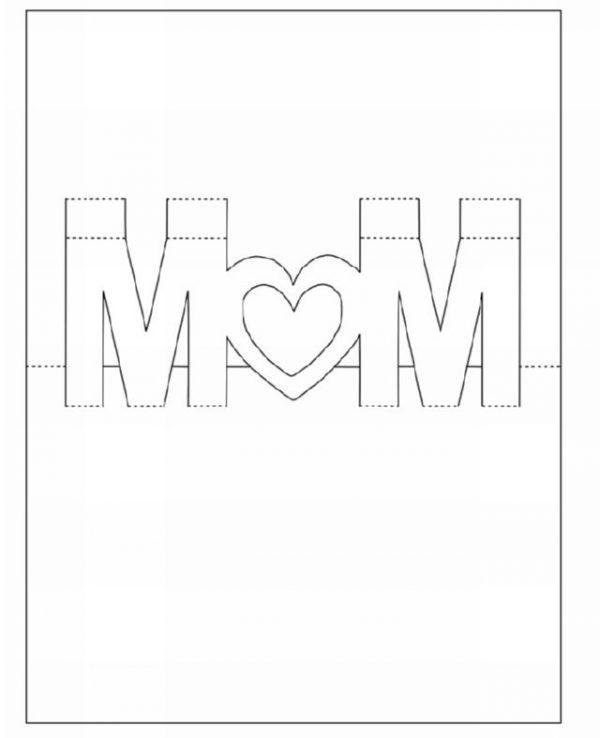 Поздравления, шаблон открытка с днем рождения маме шаблон