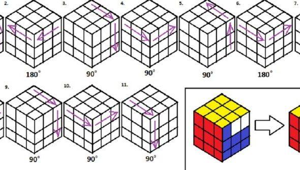 играть кубик рубик