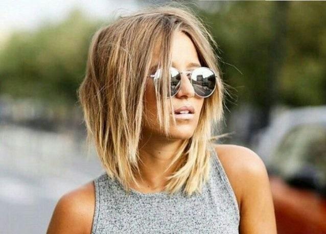 Стрижка боб на средние волосы — фото, варианты укладок