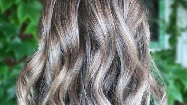 Пепельно-русый цвет волос — фото, модные оттенки, прически