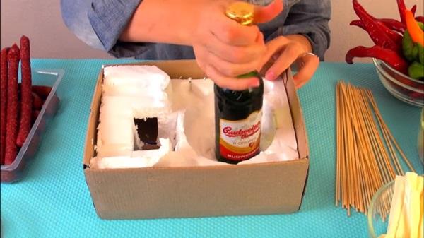 Букет из пива для мужчин своими руками пошагово: новые идеи и мастер-классы с фото мужского букета с закусками и пивом