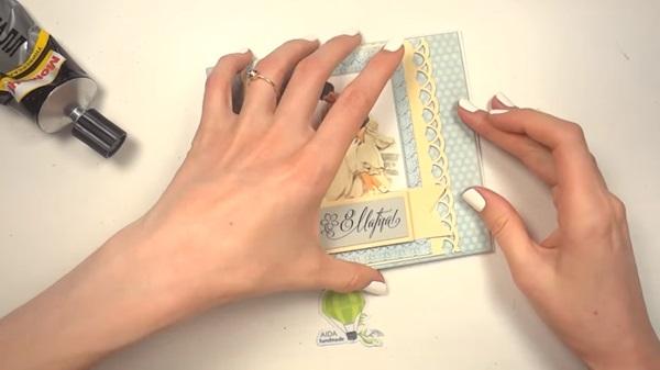 Открытки, как клеить открытки
