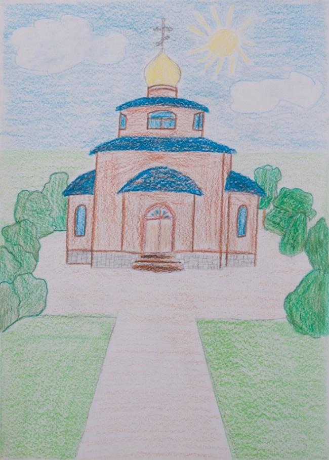 Своими руками, картинки на православную тему срисовки легкие