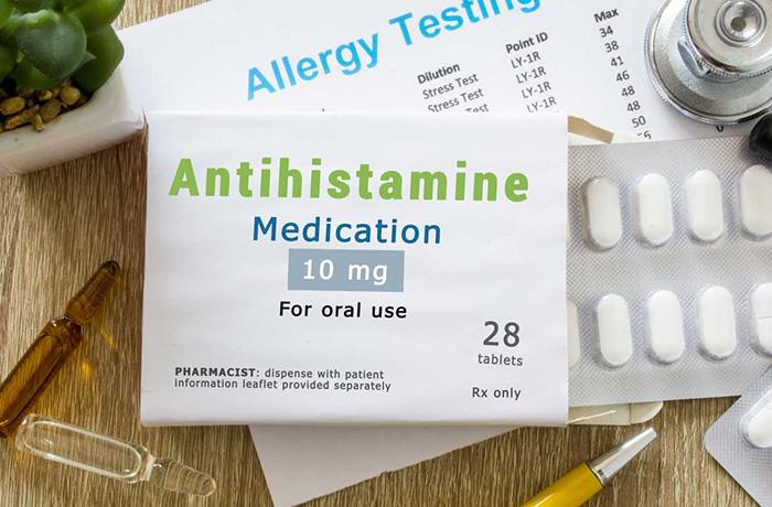 Лекарства от аллергии первого поколения