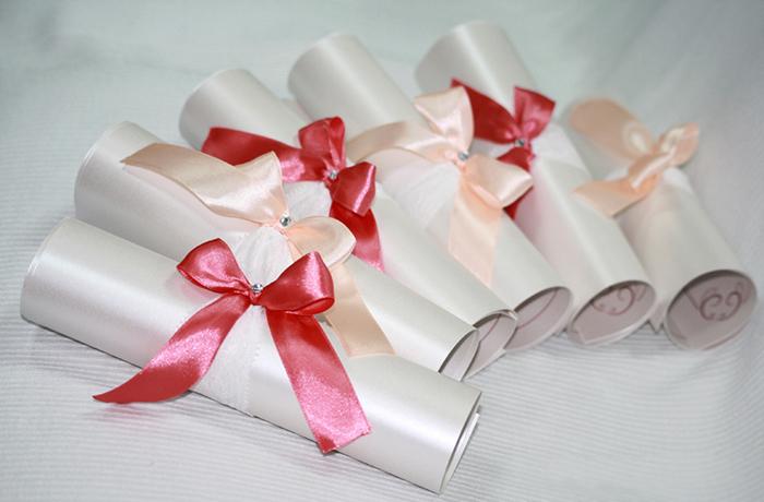 Приглашение на день рождения свиток