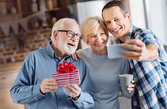 подарок родителям на новый год 2020