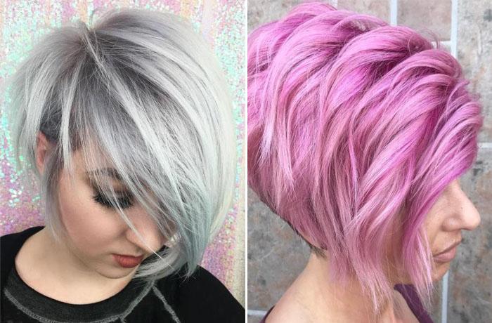 Стрижка пикси на средние волосы: фото