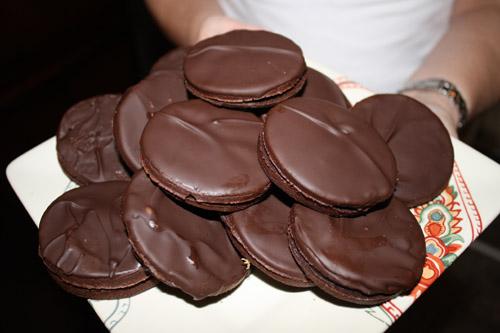 ПП пряники с шоколадной глазурью