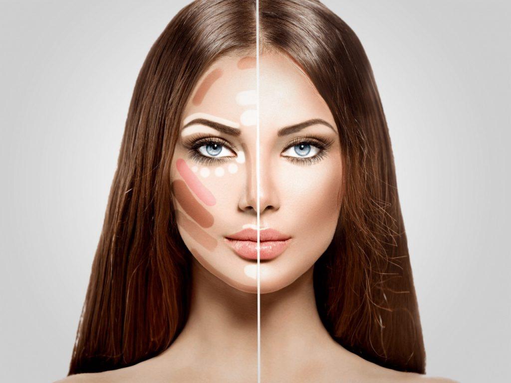 Для чего необходим контуринг в макияже