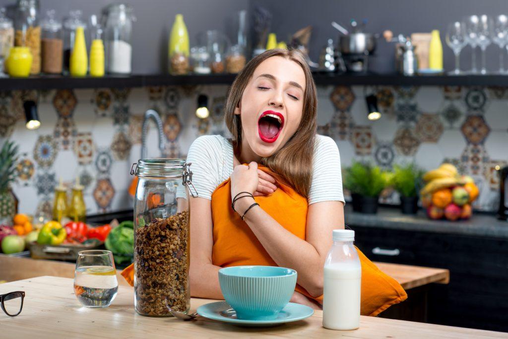 Еда, которую не следует есть перед сном