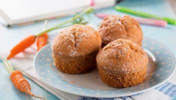 Морковные кексы с имбирем и корицей: пошаговый рецепт оригинальной выпечки