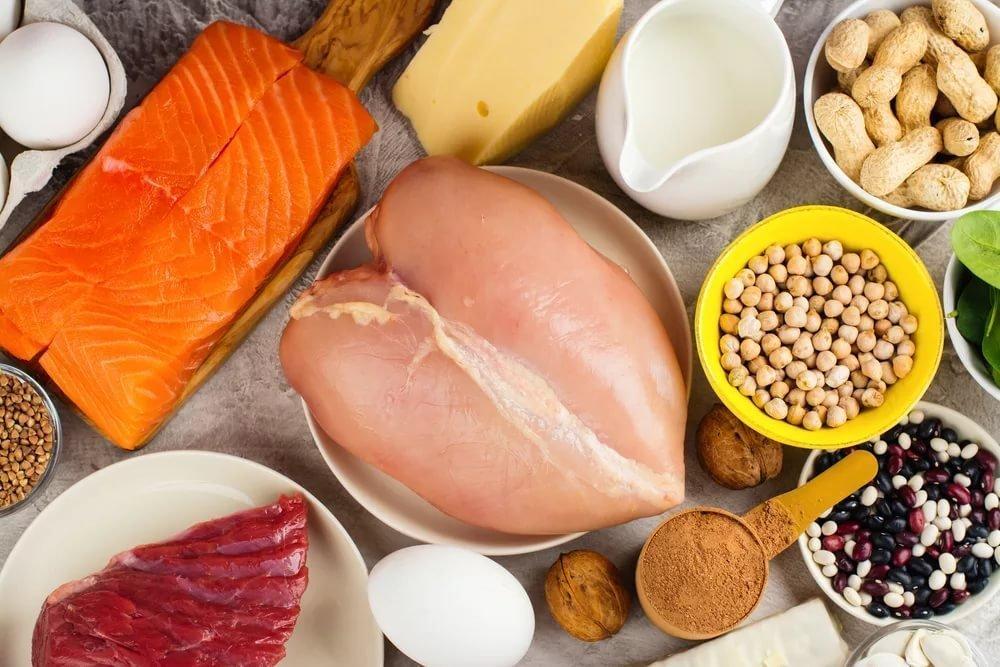 Высокобелковая пища при диете