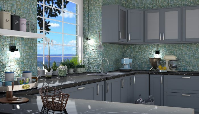 Как покрасить кухонную мебель: 7 необходимых шагов
