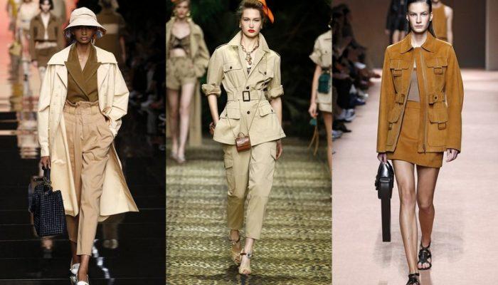 Топ-3 комбинаций модных стилей весна-лето 2020