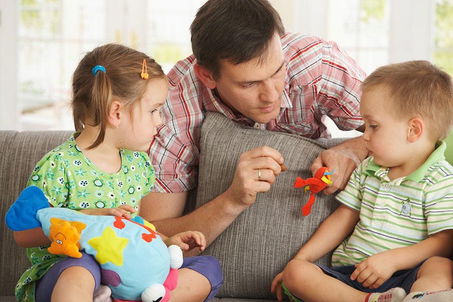 Основные приемы воспитания детей