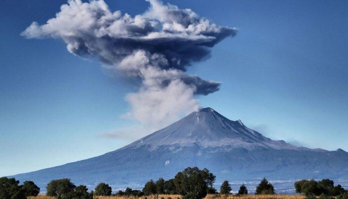 Необычные явления и загадки: радужные деревья и голубые вулканы