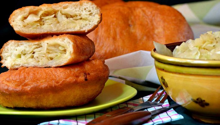 Пирожки с капустой по-чешски: готовить легко