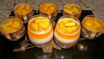 Десерт шоколадно-фруктовый: рецепт сладкого лакомства
