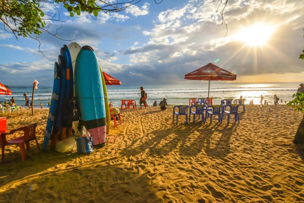 Энергия Куты: курорт на Бали, в котором кипит жизнь