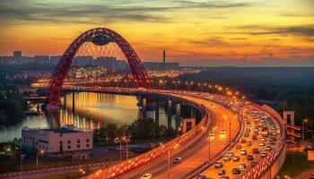 Загадочная конструкция: что скрывает таинственная капсула на Живописном мосту в Москве