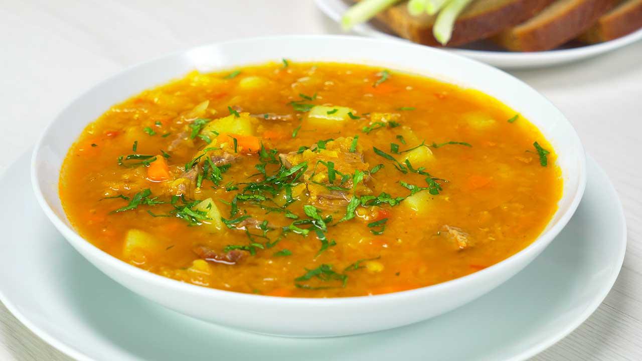 Суп чечевичный: рецепт сытного обеда