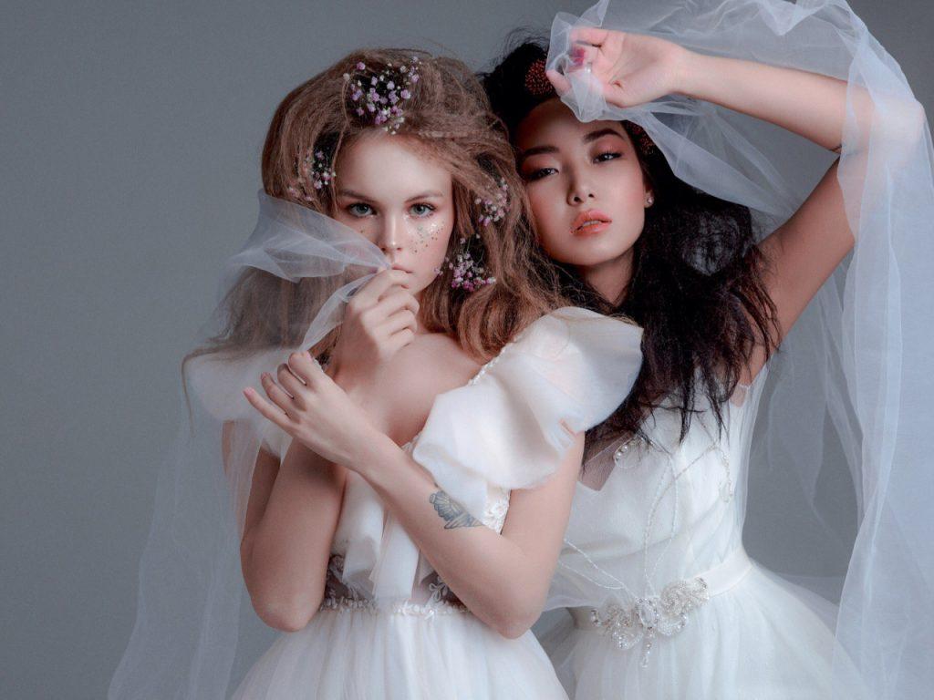 Нестандартная свадебная мода: 6 необычных свадебных образов