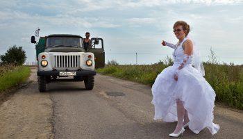 Свадьба по-сельски: подборка смешных свадебных фото из русской глубинки