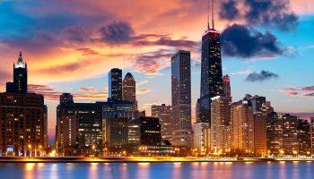 Чикаго начали строить в 1779 году, а на карте оно появилось в 1833 году — и другие факты об одном из знаменитых городов США