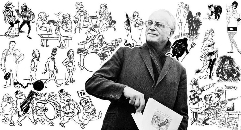 Херлуф Бидструп: его остроумные комиксы актуальны и сегодня