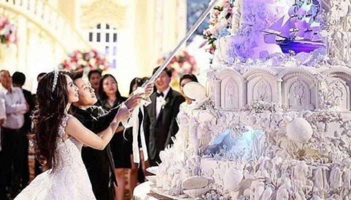 Сказочные шедевры: свадебные торты кондитера из Индонезии привлекают к себе даже больше внимания, чем платье невесты