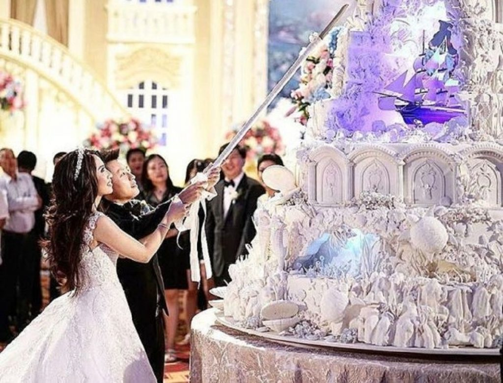 Сложнейшие свадебные торты от кондитеров из Индонезии