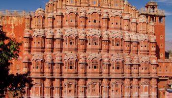 Удивительный розовый город: Джайпур, Индия