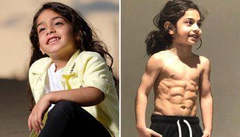 «Вот так детки!»: 6-летний иранский мальчик стал интернет-знаменитостью благодаря своей уникальной физической форме