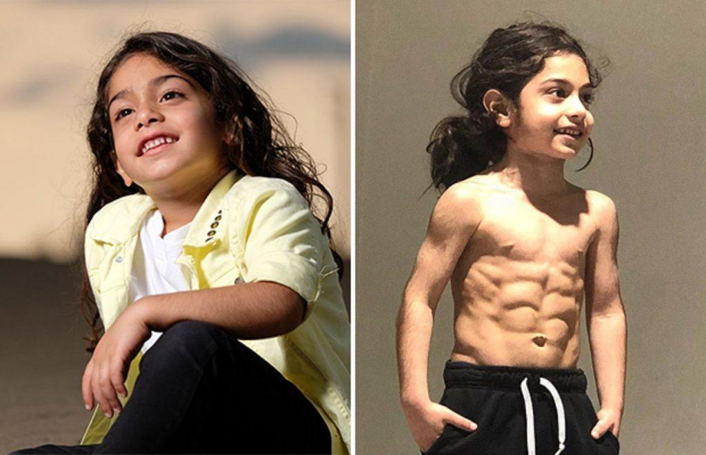 6-летний иранский футбольный вундеркинд стал интернет-знаменитостью благодаря своей невероятной физической форме