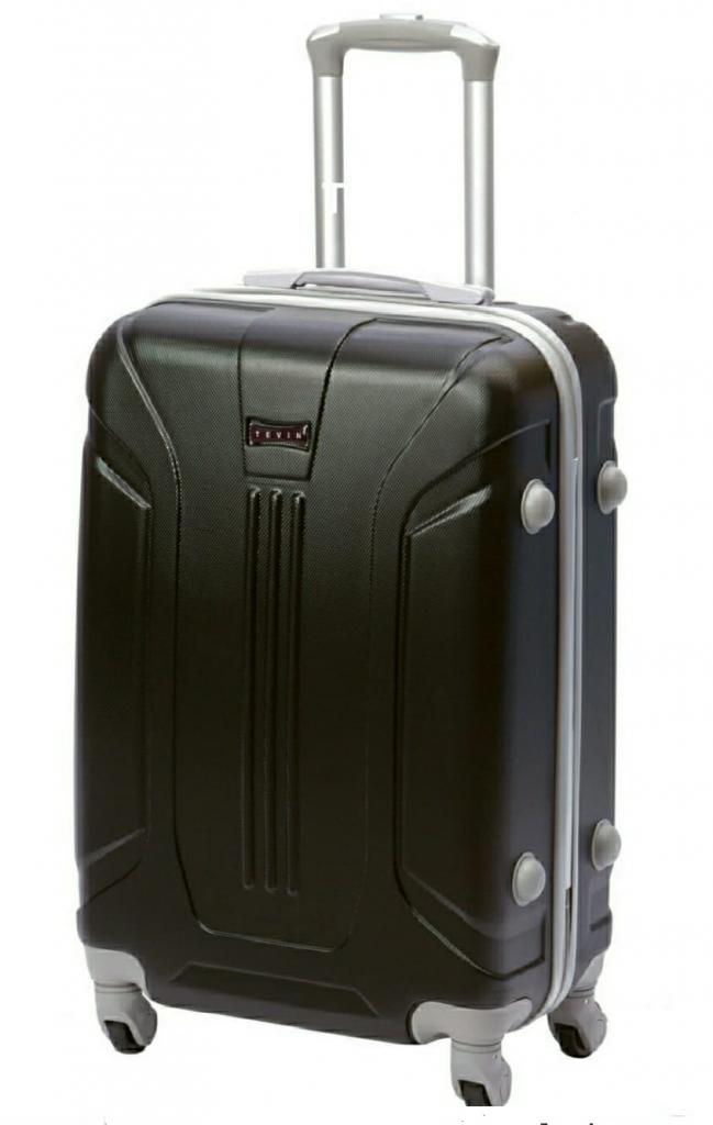 черный дорожный чемодан