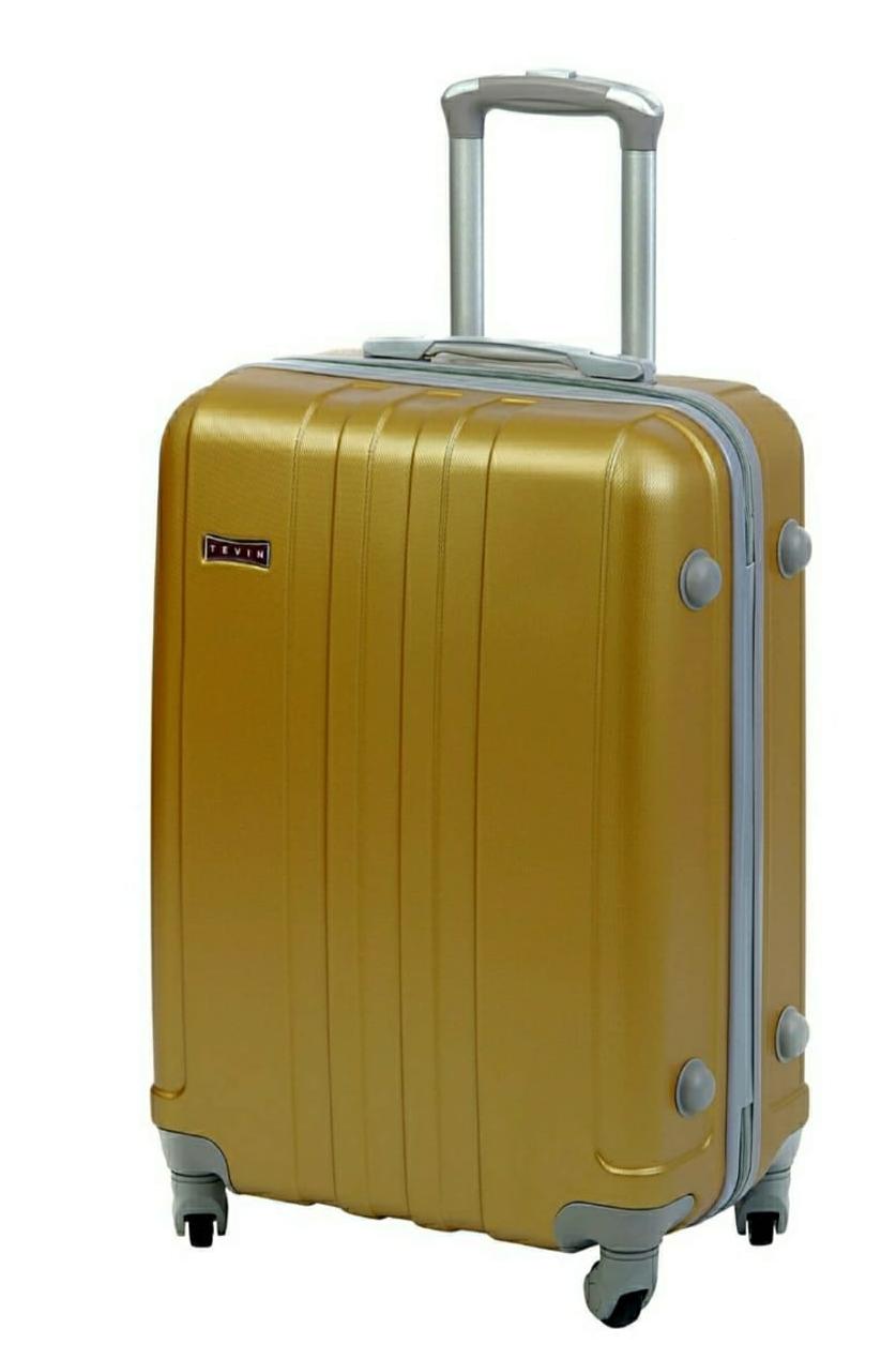 Золотой чемодан багажный
