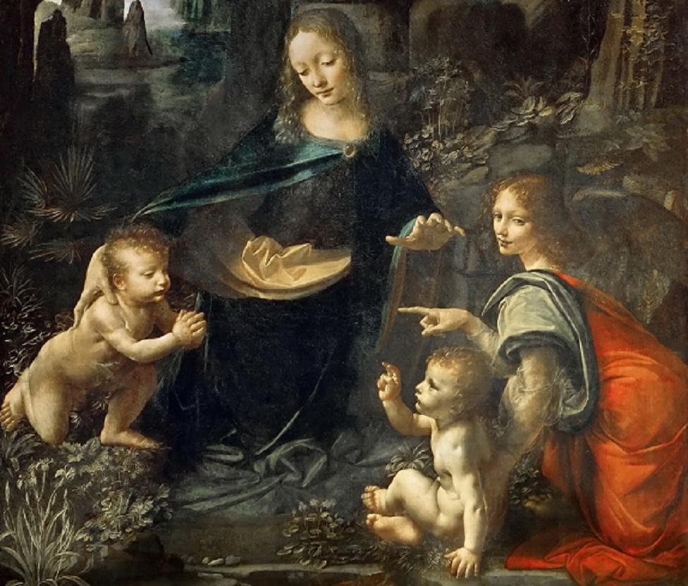 Картина в картине: ученые нашли неизвестный эскиз картины Леонардо да Винчи
