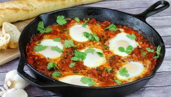 Завтраки мира (часть 2): ОАЭ — Шакшука
